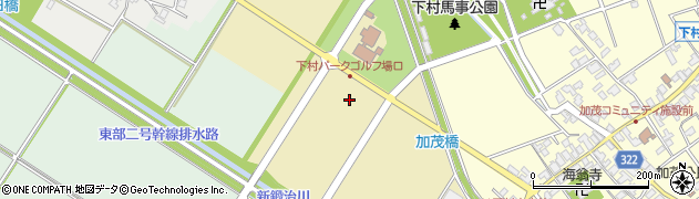 富山県射水市加茂西部周辺の地図