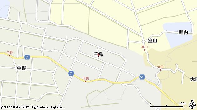 〒936-0814 富山県滑川市千鳥の地図