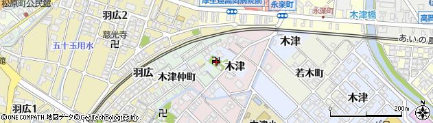 大福院周辺の地図