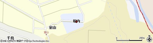 富山県滑川市堀内周辺の地図