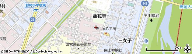 蓮花寺北団地周辺の地図