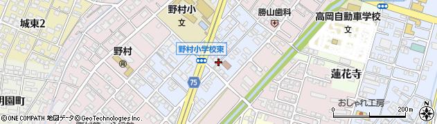 富山県高岡市野村双葉町周辺の地図