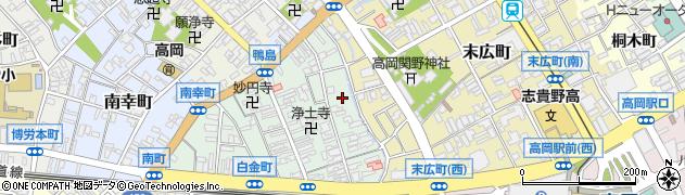 禅幢寺周辺の地図