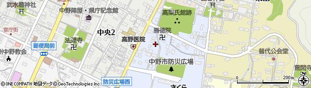 赤不動寺周辺の地図