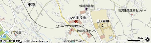 長野県下高井郡山ノ内町周辺の地図