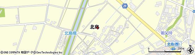 富山県高岡市北島周辺の地図