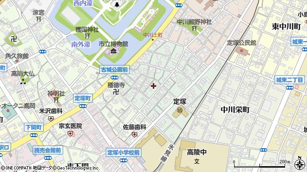 〒933-0043 富山県高岡市中川上町の地図