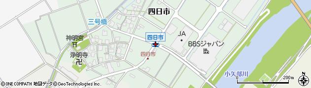 四日市周辺の地図