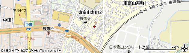 富山県富山市東富山寿町周辺の地図