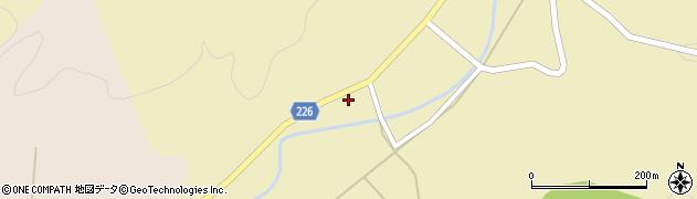 石川県かほく市余地乙周辺の地図