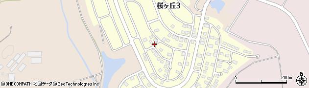 栃木県さくら市桜ヶ丘周辺の地図