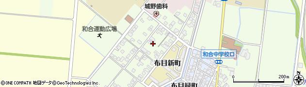 富山県富山市布目旭周辺の地図