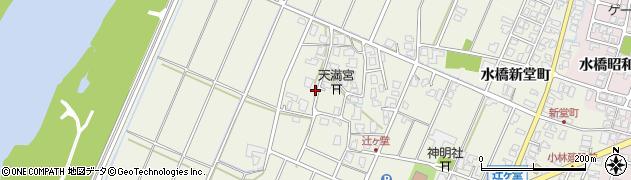 富山県富山市水橋辻ヶ堂周辺の地図