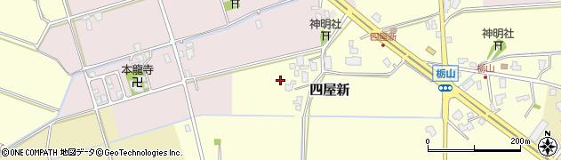富山県滑川市四屋新周辺の地図