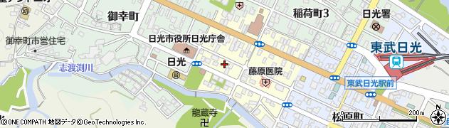 栃木県日光市石屋町周辺の地図