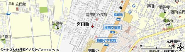 富山県高岡市宮田町周辺の地図