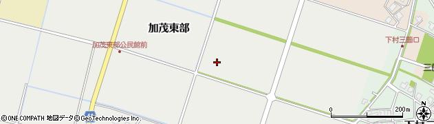 富山県射水市加茂東部周辺の地図