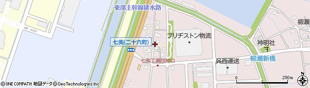 富山県射水市七美二十六町周辺の地図