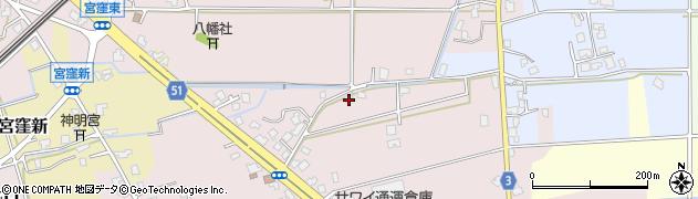 富山県滑川市七口周辺の地図