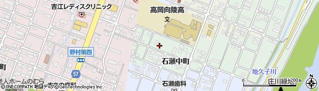 富山県高岡市石瀬中町周辺の地図