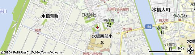 蓮勝寺周辺の地図