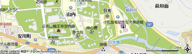 南照院周辺の地図