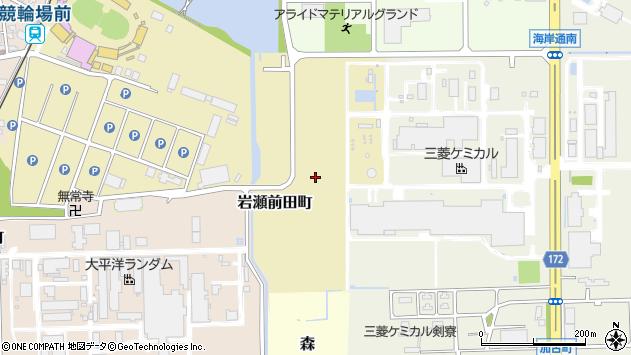 〒931-8373 富山県富山市岩瀬前田町の地図