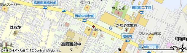 富山県高岡市美幸町周辺の地図