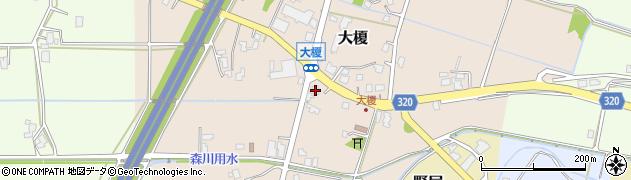富山県滑川市大榎周辺の地図