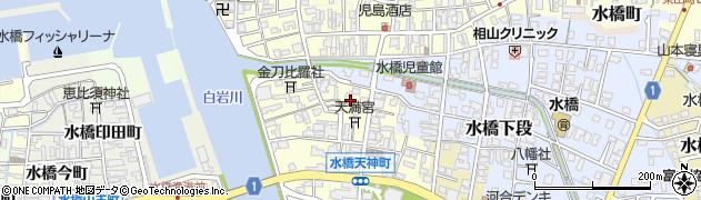 富山県富山市水橋田町周辺の地図