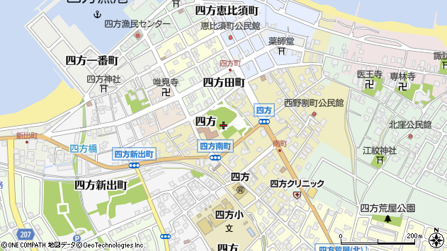 〒930-2243 富山県富山市四方荒屋の地図