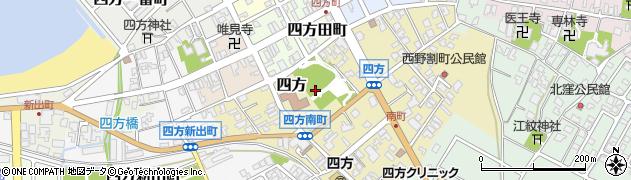 富山県富山市四方周辺の地図