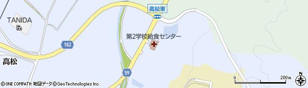 石川県かほく市高松ス周辺の地図
