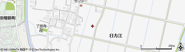 富山県富山市日方江周辺の地図