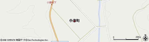 茨城県常陸太田市小妻町周辺の地図