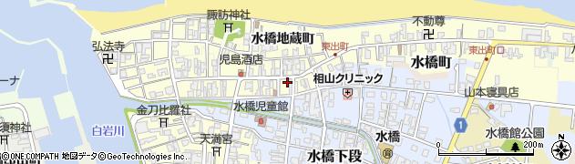 富山県富山市水橋中出町周辺の地図