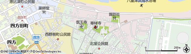 専林寺周辺の地図