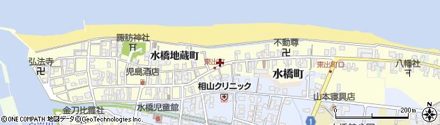 富山県富山市水橋東出町周辺の地図