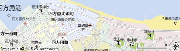 富山県富山市四方野割町周辺の地図