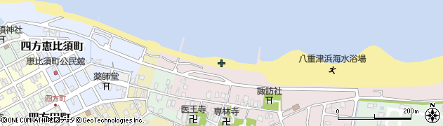 富山県富山市四方西岩瀬周辺の地図