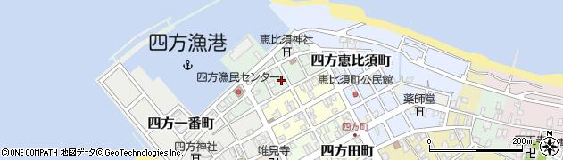 富山県富山市四方港町周辺の地図