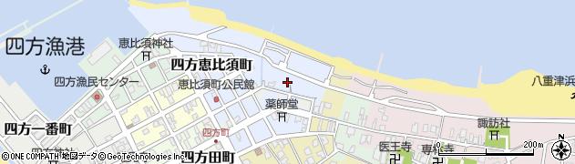 富山県富山市四方東野割町周辺の地図