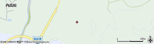 石川県かほく市内高松イ周辺の地図