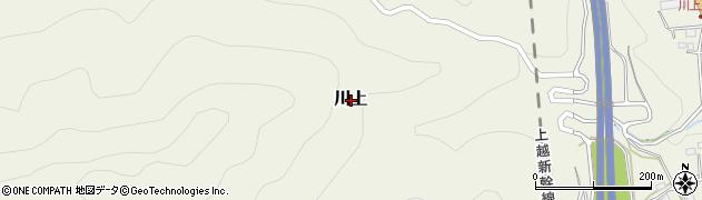 群馬県みなかみ町(利根郡)川上周辺の地図