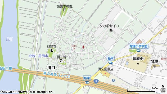 〒933-0058 富山県射水市川口宮袋の地図
