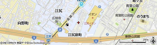 富山県高岡市江尻新町周辺の地図