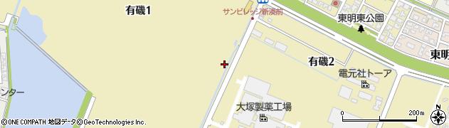富山県射水市有磯周辺の地図