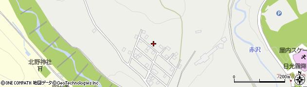 栃木県日光市萩垣面周辺の地図