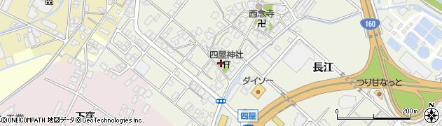 富山県高岡市四屋周辺の地図