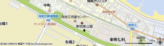 富山県射水市東明東町周辺の地図